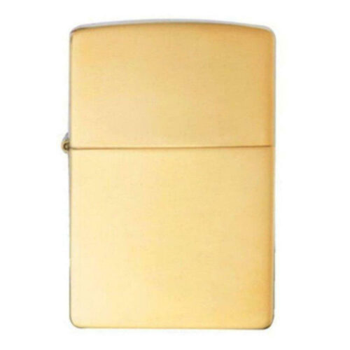 Zippo Windproof High Polished Brass Lighter 254B