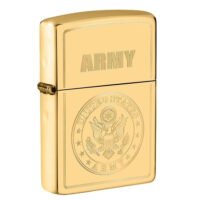 US Army Brass Zippo Lighter