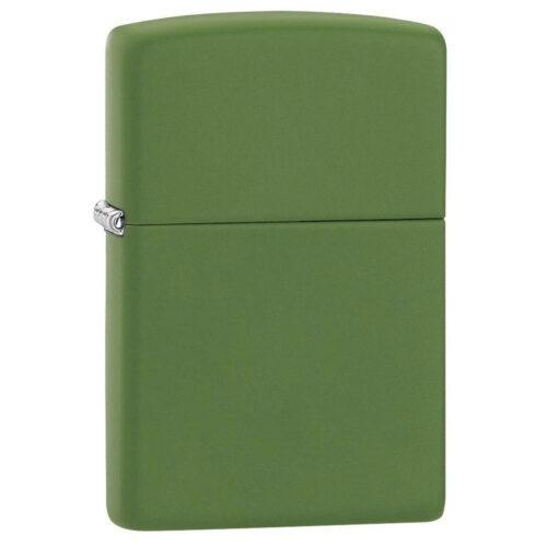 Zippo Moss Green Matte Lighter #228 Free Engraving